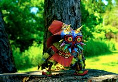 Skull Kid Papercraft by studioofmm from Majora's Mask