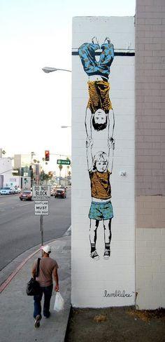Street Art.Artist: Bumblebee