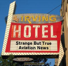 It's Strange! http://www.aviationqueen.com/strange-but-true-aviation-news-37/