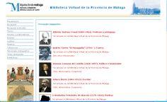 Personajes malagueños en la Biblioteca Virtual de la Provincia de Málaga http://bibliotecavirtual.malaga.es/