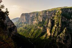 Vikos Gorge Ioannina Greece (deepest gorge in the world) [OC] [6016x4000]