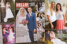 I'm absolutely bursting with pride to let you know that LOVE Bridal Boutique had the great honour of dressing and styling double Olympic gold medallist and Great Britain's joint most decorated female Olympian, Rebecca Adlington OBE, for her wedding day! Rebecca wore a stunning gown and veil from Stewart Parvin. See it for yourself in today's HELLO! magazine, there's even a lovely little mention about the boutique in there too :o)