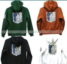 Attack On Titan Coat Attack On Titan Clothing Hooded #Sweatshirt
