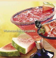 Watermelon Margaritas are a summertime favorite!