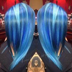 FORMULA: My Blue Girl | Modern Salon