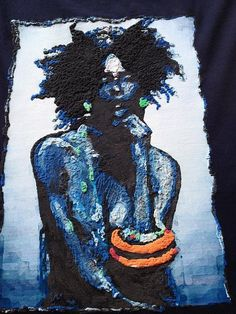 Afrocentric T-shirt African Tee Ethnic Nubian Painted 3d - Quortshirts