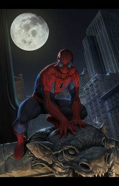 Spider Man - Art by Iqnatius Budi#SpiderMan #CivilWar #Avengers #Marvel…