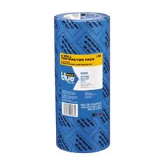 Removes cleanly without adhesive transfer or surface damage for up to 14 days, even in direct sunlight Medium adhesion tape that is ideal for painted walls and trim, woodwork, glass and metal 6 rolls per pack. Utility Closet, Break, Home Improvement Contractors, Painters Tape, Wood Trim, Wall Treatments, 6 Packs, Masking Tape, Textured Walls