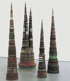 Dice Sculptures  Tony Cragg