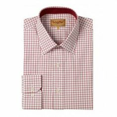 Schoffel Cambridge Shirt-Red-16 www.hadfieldguns.com