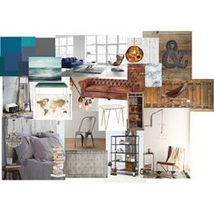 Inspiration by s-welander on Polyvore featuring interior, interiors, interior design, home, home decor, interior decorating, West Elm, Eichholtz, Pure Home and Opinion Ciatti