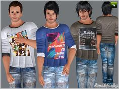 .:263 Teen Casual set:.  Found in TSR Category 'Sims 3 Male Clothing'