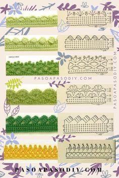 Best 12 Crochet How to crochet doily Part 1 Crochet doily rug tutorial – SkillOfKing. Crochet Border Patterns, Crochet Boarders, Crochet Diagram, Crochet Chart, Crochet Designs, Knitting Patterns, Crochet Doily Rug, Crochet Blanket Edging, Crochet Diy