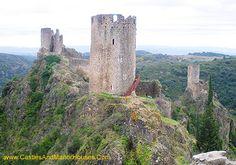 Châteaux de Lastours, Lastours, département of l'Aude, France - www.castlesandmanorhouses.com