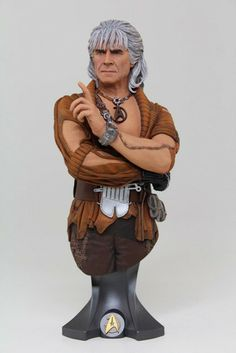 Star Trek Khan Noonien Singh Bust - 20cm - Only £80!!