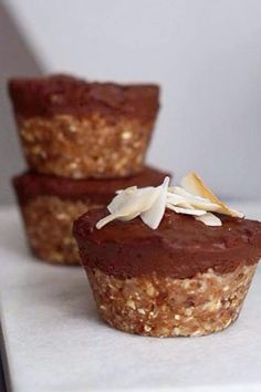 Raw Food Recipes, Cake Recipes, Raw Cake, Healthy Cake, Healthy Food, Cookie Desserts, No Bake Cake, Food Inspiration, Bon Appetit