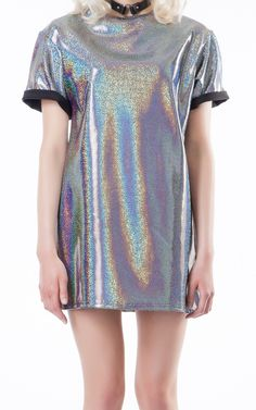 Spaced T-Dress