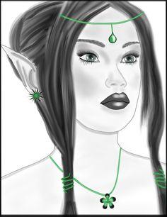 Elfa por Mamen33