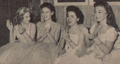 *CHERYL Holdridge: With Shelley Fabares, Annette, and Doreen Tracey at 'Annette' serial cast party