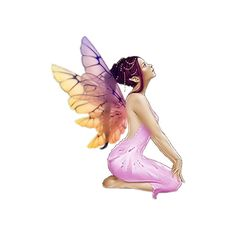 """i.bodrova2011 - album """"Clipart / Fairies, elves» on Yandex ❤ liked on Polyvore featuring fairies, fantasy, people, dolls, angels and filler"""
