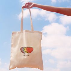 Image of TOTEBAG LOVE IS LOVE Diy Tote Bag, Cute Tote Bags, Cotton Tote Bags, Reusable Tote Bags, Printed Tote Bags, Canvas Tote Bags, Diy Clothes Bag, Bag Mockup, Shopper Bag