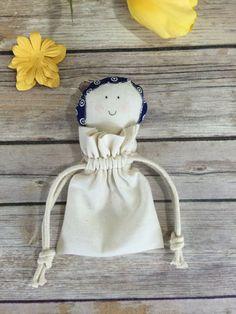 Mother's day Girl Birthday Favor Bag Pouch  by SpanishVelvet
