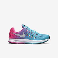 buy popular 70caf 261e8 Items similar to Swarovski Nike Girls Pink Zoom Pegasus 33 blinged with  SWAROVSKI® Crystals on Etsy. Chaussures Pour FillesNike Enfants ...