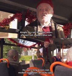 We love you, Wilf. We want YOU to be the next companion.