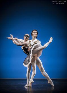 """""""Elisa and Friends"""" Ballet Gala, 2015.Elisa Carrillo Concert Hall.""""Satanella"""" Pas de Deux - Marius Petipa.Iana Salenko and Dinu Tamazlacaru.Fotografía Carlos Quezada."""