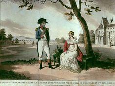 Napoleon and Josephine in the Malmaison.