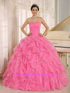quinceanera dress pink - Buscar con Google