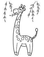 dibujos de jirafas para imprimir  Imagenes para imprimirDibujos