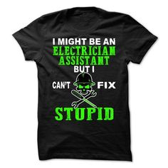 ELECTRICIAN ASSISTANT T-SHIRTS, HOODIES, SWEATSHIRT (21.99$ ==► Shopping Now)