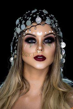 Maquiagem pirata #maquillaje #makeup