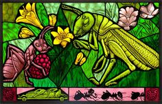 Monica R. L. Wing, a molto awesome stained glass artist, agreed to be interviewed at Tell Me A Story. Check her out!