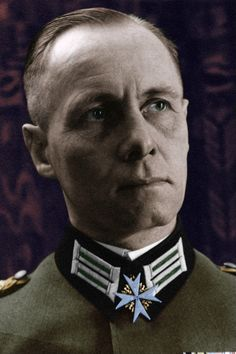 Erwin Rommel Interbellum Colorized by OldHank.deviantart.com on @DeviantArt