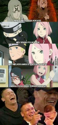 Tobirama n aprova Sasunaru, Boruto And Sarada, Sakura Uchiha, Narusaku, Naruto Shippuden Sasuke, Anime Naruto, Hinata, Anime Meme, Naruto Girls