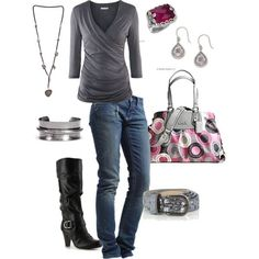 255 Perfect outfit and that coach bag is featured on another set onthis board