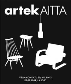 Artek Aitta is an outlet store located in Vallila, Helsinki. The selection of Aitta includes individual exhibition pieces, special items and products that are going to be withdrawn from collection. A place for unique findings! See more from Artek pages at http://www.artek.fi/contacts/stores/7