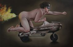 Juxtapoz Magazine - New Paintings From Lilli Hill