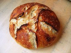 Naturally leavened no knead bread | The Fresh Loaf
