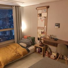 spectacular small bedroom design ideas for cozy sleep 9 Living Room Decor, Bedroom Decor, Bedroom Storage, Wall Storage, Cozy Bedroom, Bedroom Apartment, Bedroom Ideas, Apartment Living, Small Room Decor