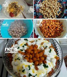 Fellah Köftesi Tam Kıvamında Garanti Dağılmayan Tarifi nasıl yapılır? 11.849 kişinin defterindeki bu tarifin resimli anlatımı ve deneyenlerin fotoğrafları burada. Yazar: Sevgi Turkish Recipes, Ethnic Recipes, Chana Masala, Mashed Potatoes, Side Dishes, Salads, Food And Drink, Pasta, Healthy Recipes