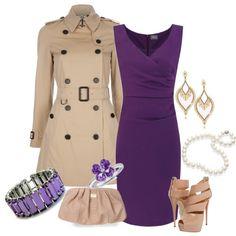 Purple and Nude