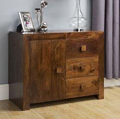 Dark Mango Wood Furniture with Indian Styling