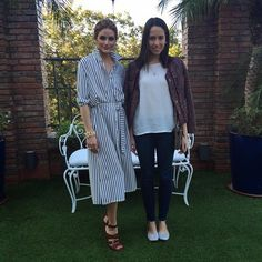 Olivia Palermo in Paraguay For Maison Boggiani Opening