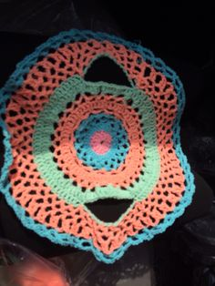 Crochet Me A Rainbow Circle Vest | crochet vest/shrug ...
