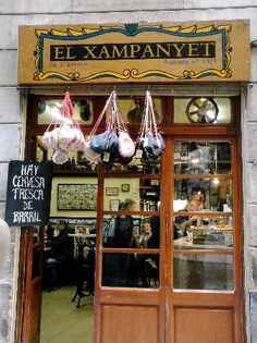 El Xampanyet - Carrer de Montcada, 22 08003 Barcelona Neighborhood: Sant Pere, Santa Caterina i la Ribera-Born - Near Picasso Museum -  Mon-Sat 12 pm - 3:30 pm Mon-Sat 7 pm - 11 pm - Must Try: House Cava, Cheese Stuffed Peppers.