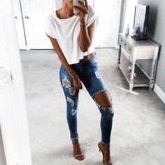 rotos jeans