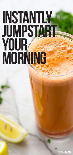 Morning Zinger Juice - Kickstart your morning with a burst of energy!